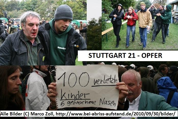 Stuttgart21-Opfer