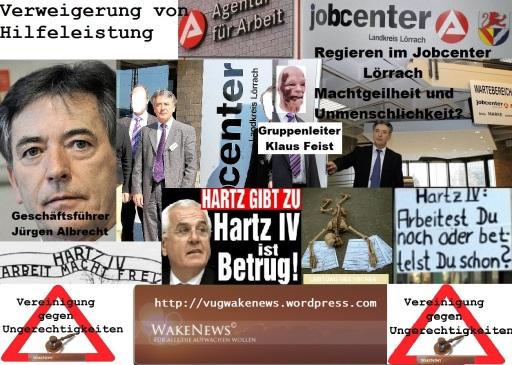 Unmenschen Jürgen Albrecht und Klaus Feist