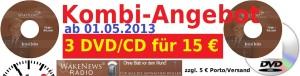 Kombi-Angebot DVD CD