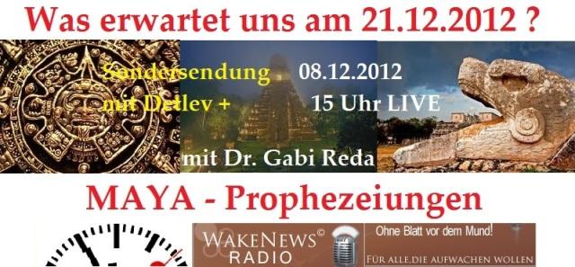 MAYA SONDERSENDUNG 08.12.12