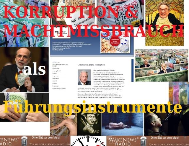 Korruption Machtmissbrauch Führungsinstrumente