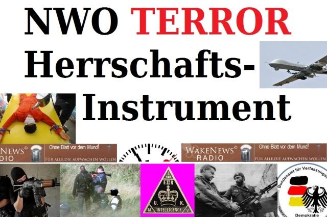 NWO Terror Herrschaftsinstrument