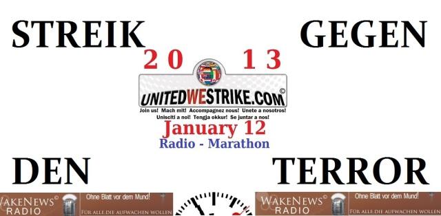 Streik gegen den Terror