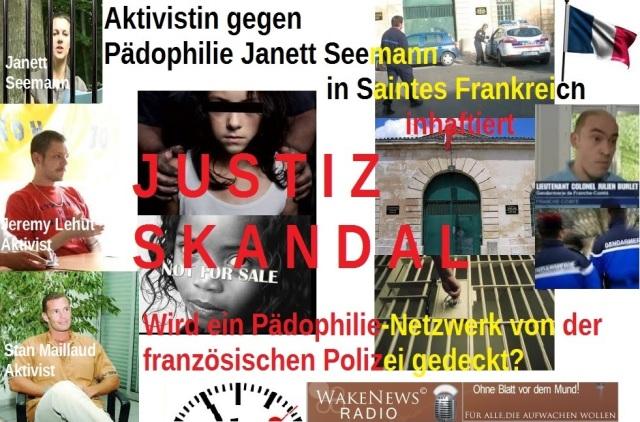 Justiz Skandal Janett Seemann Frankreich o