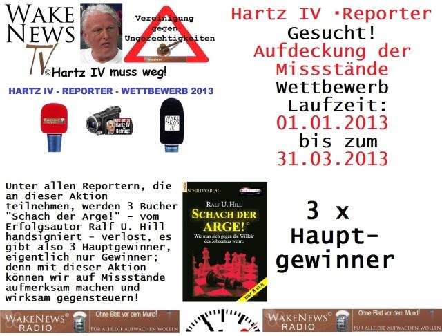 Hartz IV - Reporter - Wettbewerb
