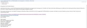 Email Schneider-Ammann Bundesrat CH 18.04.2013