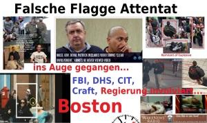 Falsche Flagge Attentat Boston