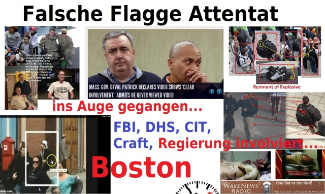 Falsche Flagge Attentat Boston
