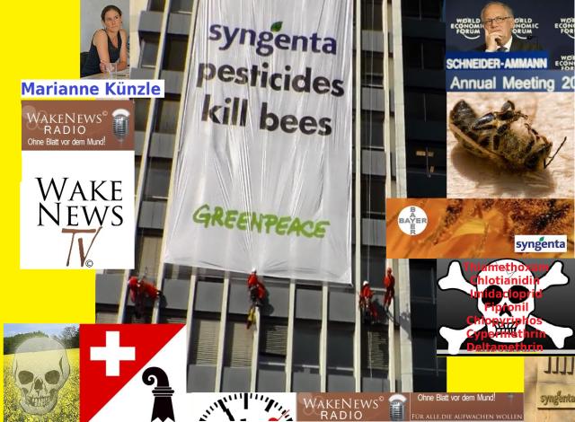 Kletteraktion Basel 17.04.2013 Greenpeace Syngenta