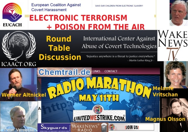 Electronic Terrorism + Poison From The Air - Wake News Radio TV 11.05.2013