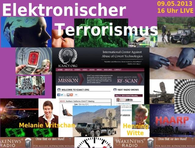 Elektronischer Terrorismus 09.05.2013