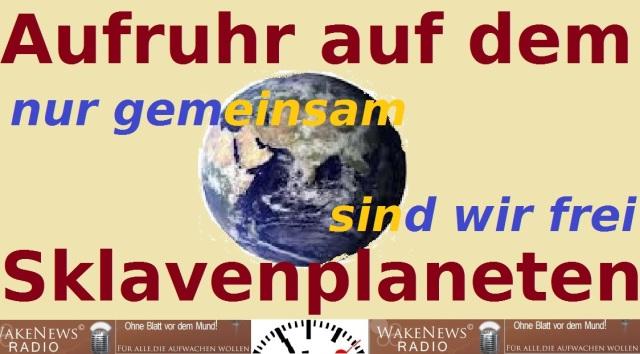 Aufruhr auf dem Sklavenplaneten