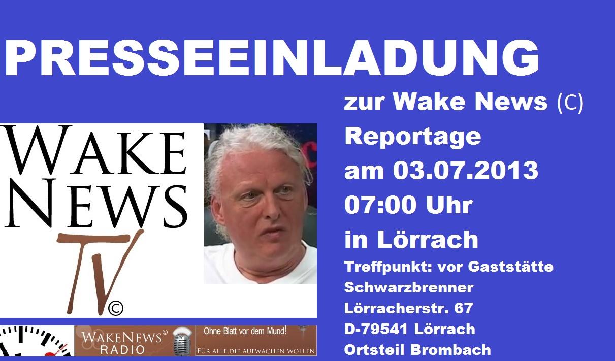 Presseeinladung von Wake News Radio / Was wählen Sie 2013? Einen Firma oder einen Staat