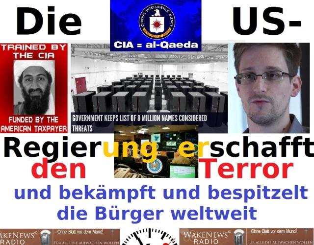 US-Terror Bürgerbespitzelung