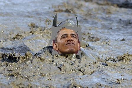 Obama Mud