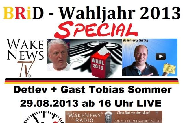 BRiD Wahljahr 2013 Special
