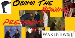 Obama the bowing President