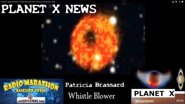 Planet X News UNITEDWESTRIKE Radio Marathon Aug 10 2013 logo