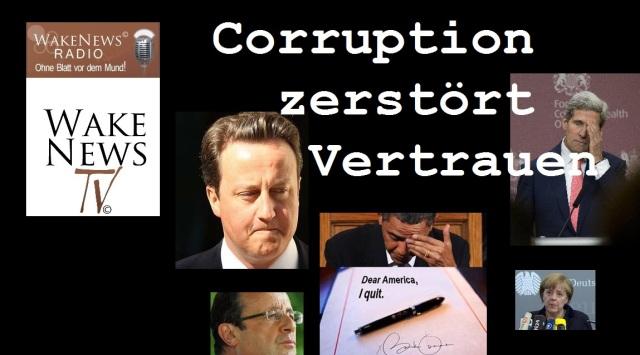 Corruption zerstört Vertrauen 2
