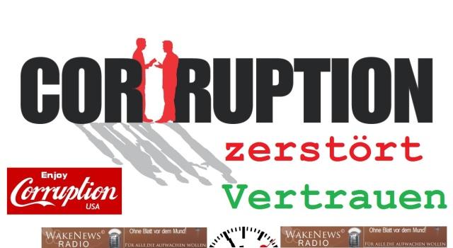 Corruption zerstört Vertrauen
