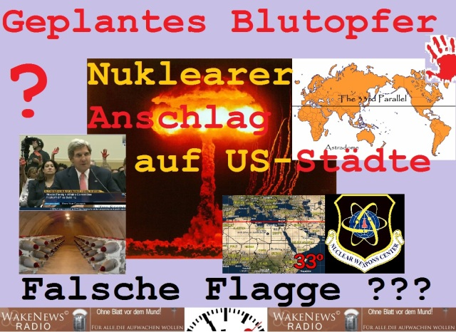 Geplantes Blutopfer Nuklearer Anschlag auf US-Städte