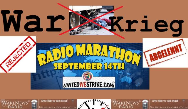 Krieg abgelehnt War rejected - Wake News Radio TV