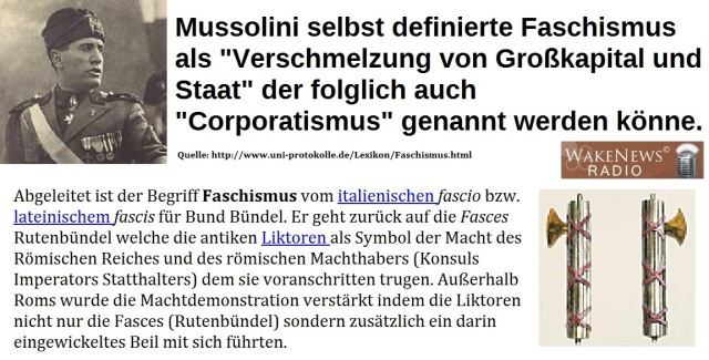 Faschismus-Definitionen