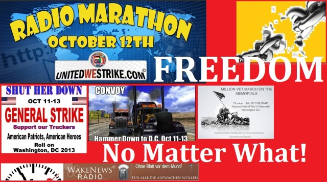 FREEDOM NO MATTER WHAT Oct. 12 2013
