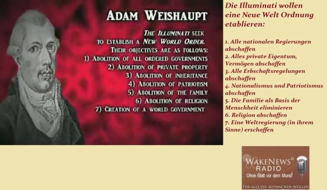 NWO Illuminati Ziele