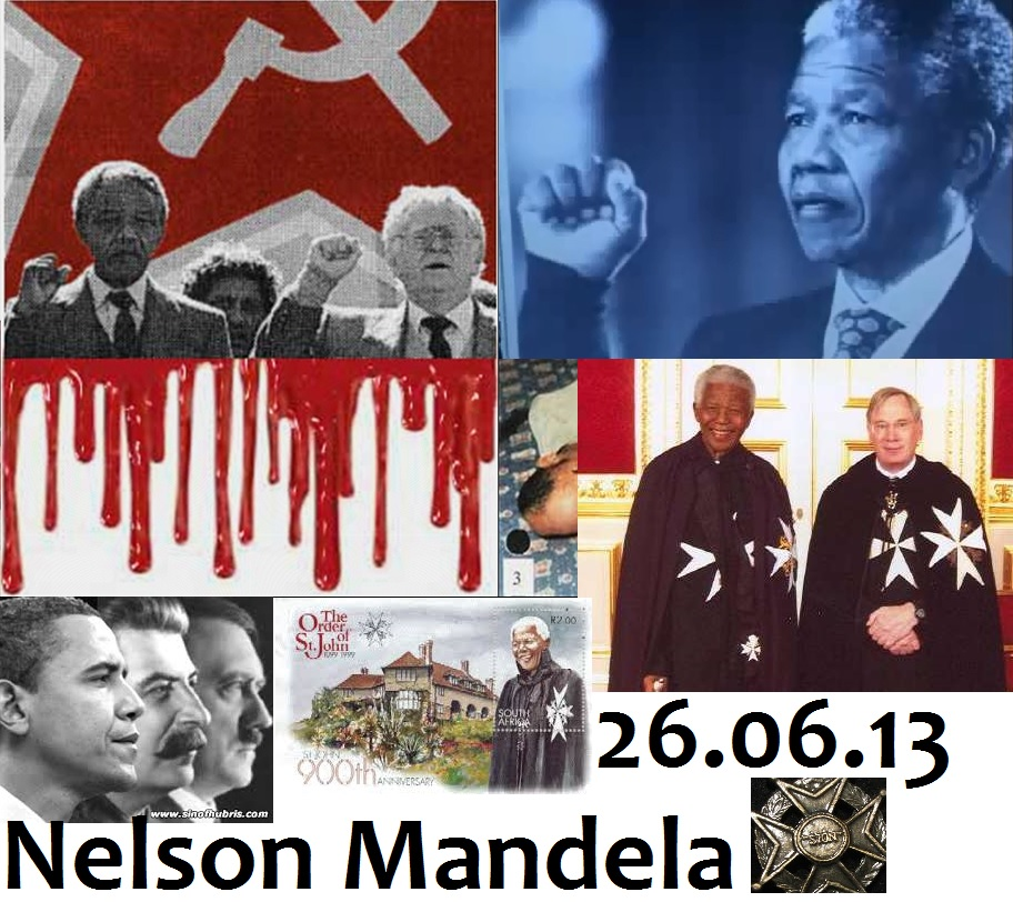 Nelson Mandela Knight of Malta