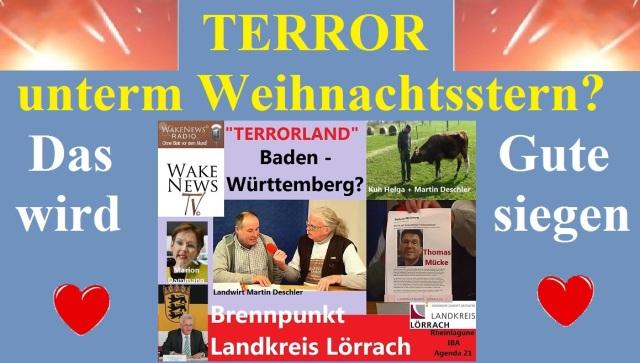Terror untern Weihnachtsstern - das Gute wird siegen!