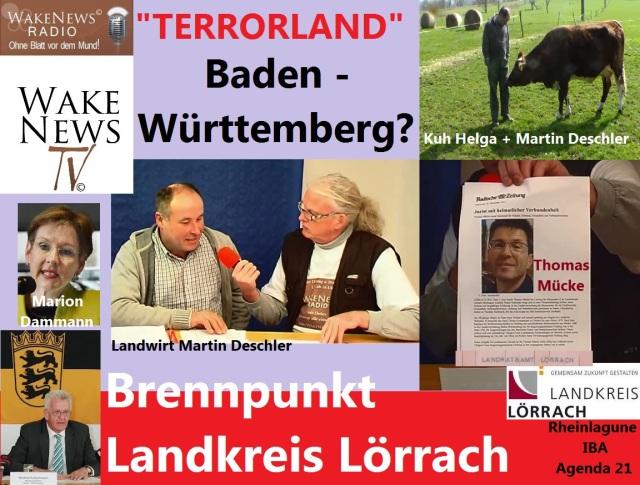 TERRORLAND Baden-Württemberg - Brennpunkt Landkreis Lörrach