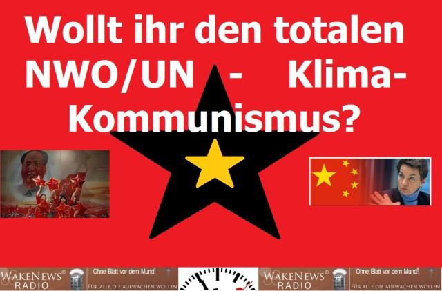 NWO UN Klima Kommunismus