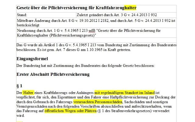 Pic 15 Gesetz Pflichtversicherung 2012