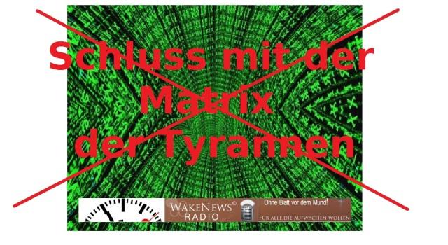 Schluss mit der Matrix der Tyrannen