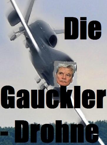 Die Gauckler-Drohne