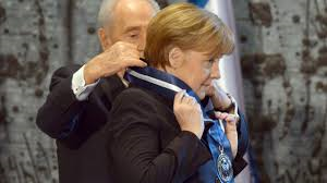Merkel erhält israelischen Orden