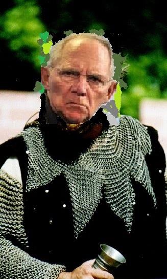 Raubritter Schäuble