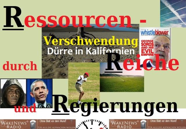 Ressourcenverschwendung durch Reiche und Regierungen