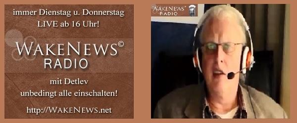 Wake News LIVE Di + Do 16 - 18 Uhr 600 - 250