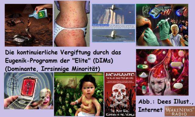 Die kontinuierliche Vergiftung durch das Eugenik-Programm der Eliten