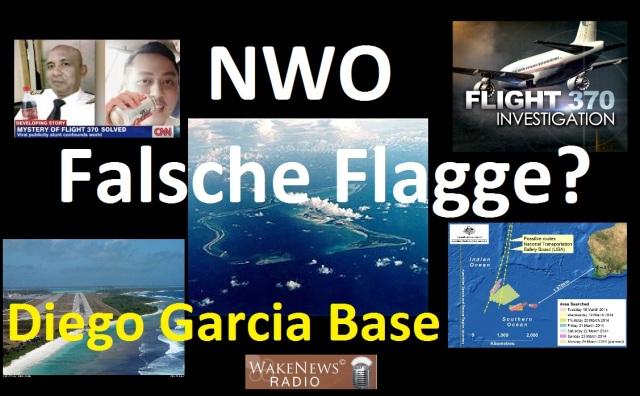 Flug 370 in Diego Garcia