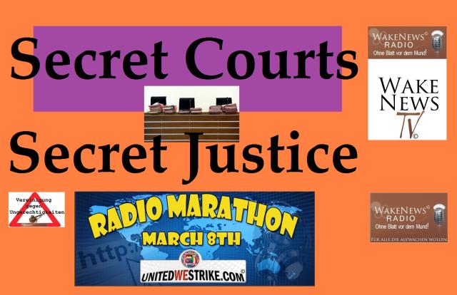 Secret Courts - Secret Justice