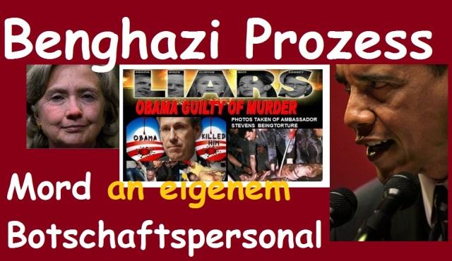 Benghazi Mord an eigenem Botschaftspersonal