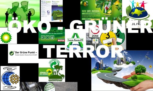 Öko-grüner-Terror
