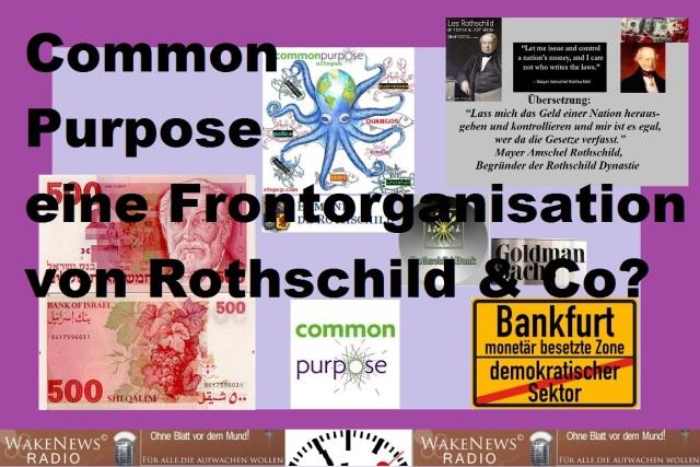 Common Purpose - eine Frontorganisation von Rothschild u. Co