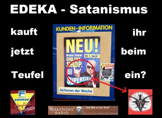 EDEKA - Kauft ihr jetzt beim Teufel ein