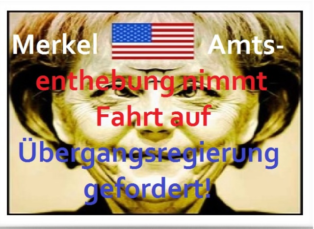 Merkel Amtsenthebung nimmt Fahrt auf - Übergangsregierung gefordert