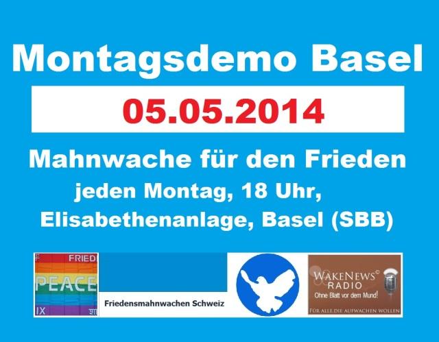 Montagsdemo Logo Schweiz Basel