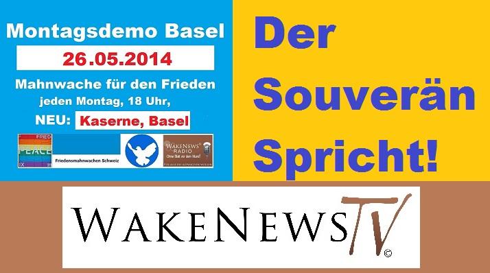 Der Souverän spricht auf der Montagsdemo in Basel